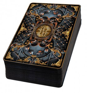 The Elemental Wisdom Tarot - Regular Version - UV (soft glossy) lamination, black edges