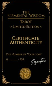 The Elemental Wisdom Tarot - LIMITED EDITION