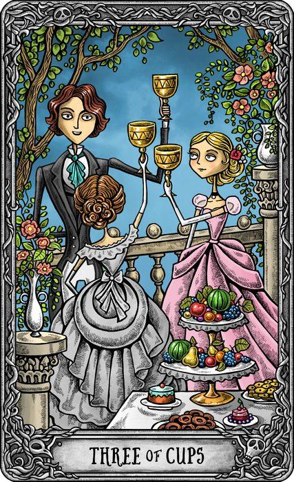 The Dark Mansion Tarot - LIMITED EDITION